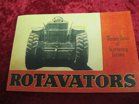 Rotavators Hand Book