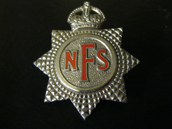 NFS King's Crown Cap Badge