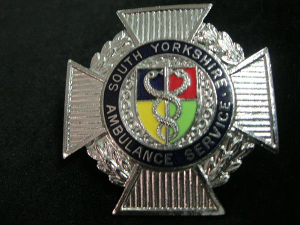 South Yorkshire Ambulance Service Cap Badge