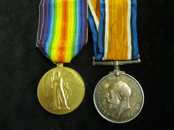 WW1 - RAMC Medal Pair