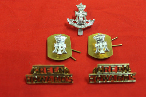 Green Howards Badge Set