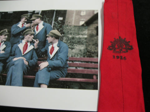 WW1 - Australian Wounded Soldiers Red Tie
