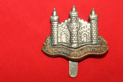 The Cambridgeshire Regiment Cap Badge