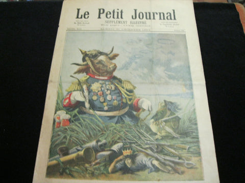 1893 - French Le Petit Journal Supplement
