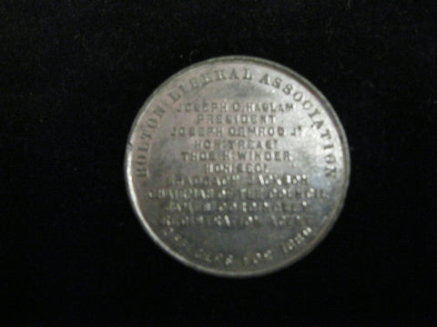 1880 - Bolton Liberal Association Medallion