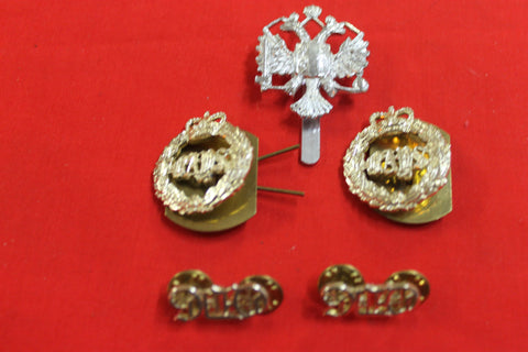 15th/19th King's Royal Hussars Badge Set