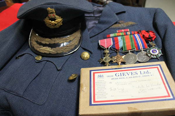 WW2 - OBE & Rafidain Medal Group to Air Vice Marshal Neil Olgivie Forbes