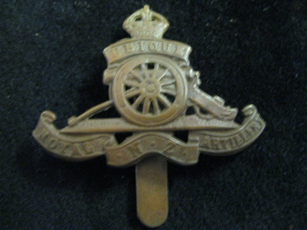 WW1 -Royal NZ Artillery Cap Badge