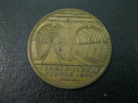 1843 - W.Griffin Thames Tunnel Medalet