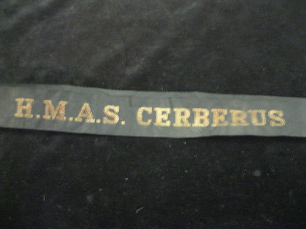HMAS Cerberus Tally Band