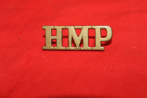His Majesty's Prisons Shoulder Title