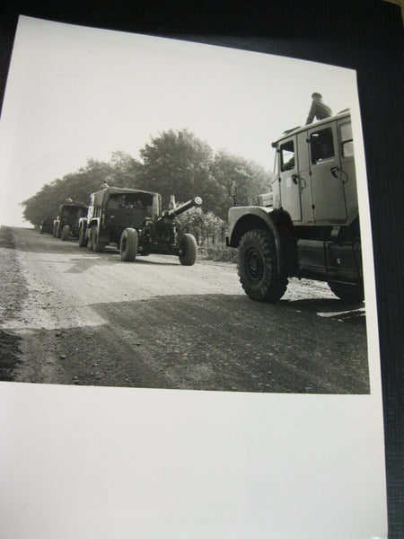 Large Royal Artillery Photo 1964