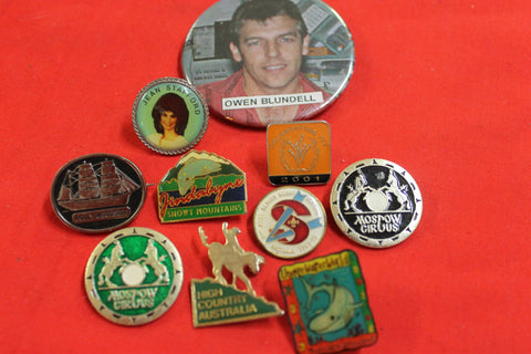 10 - Assorted Badges