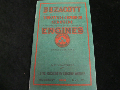 Buzacott Engines Catalogue