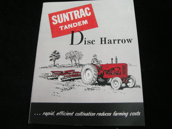 Suntrac Harrow Pamphlet