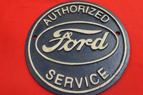 Ford Service Plaque