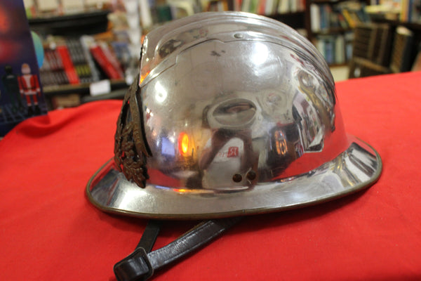 Early 1900's French Fireman's Helmet