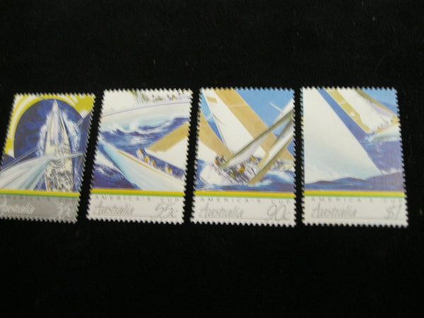 1987 - America's Cup set of 4 - Muh
