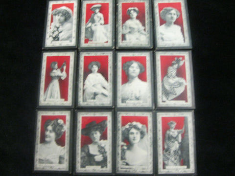 Will's { Australia } Actresses Cigarette Cards