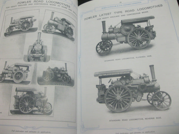 Fowler Traction Engines Catalogue