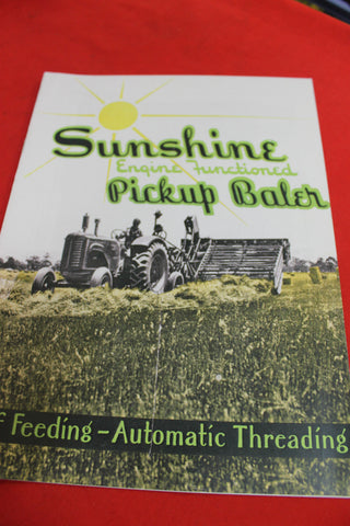 Sunshine Engine Functioned Pickup Baler
