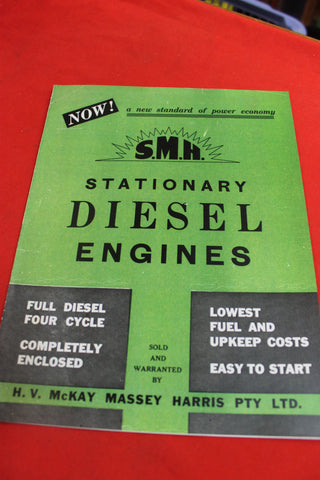 SMH Stationary Diesel Engines Pamphlet