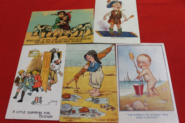 5 - Vintage Humorous Postcards