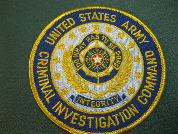 US - Army Criminal Investigation Command Patch