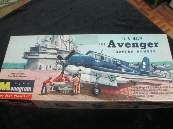 1958 - 1:48 Monogram Avenger Model Kit