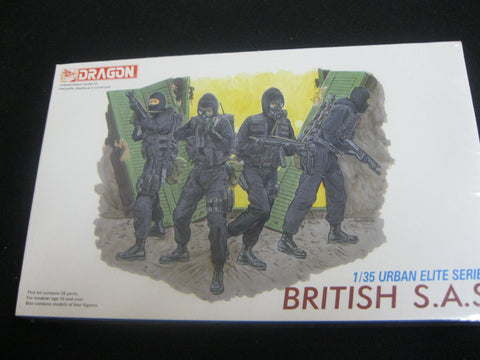 1:35  Dragon - British SAS Model Figure Kit