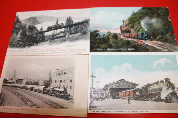 4 - Assorted Train Cards