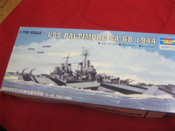 1:700 - Trumpeter USS Baltimore Model Kit