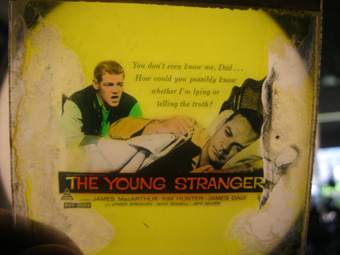1957 - The Young Stranger Glass Movie Slide