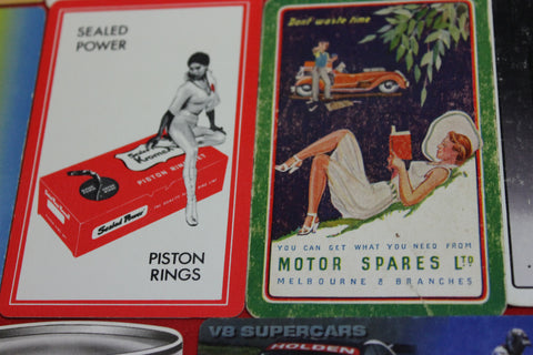 10 - Automotive Related Swap Cards