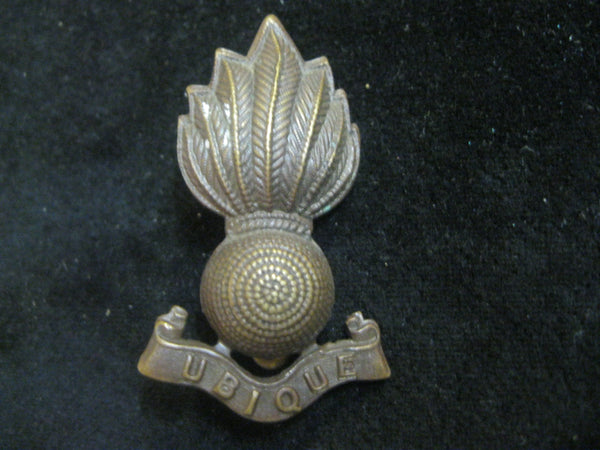 Royal Marine Artillery Cap Badge
