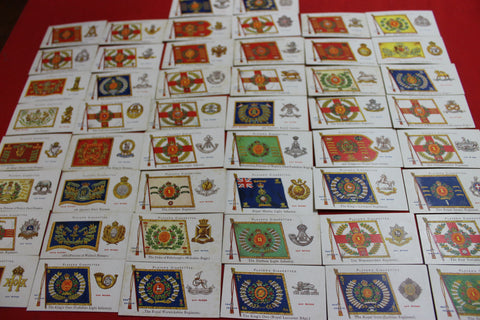 1910 - John Player Regimental Colours Cigarette Cards