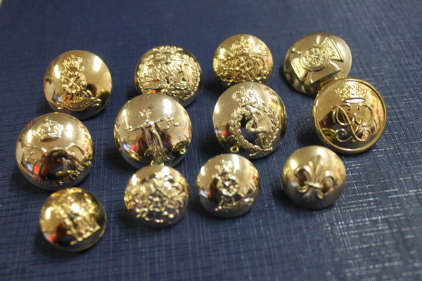 British Military Button Lot