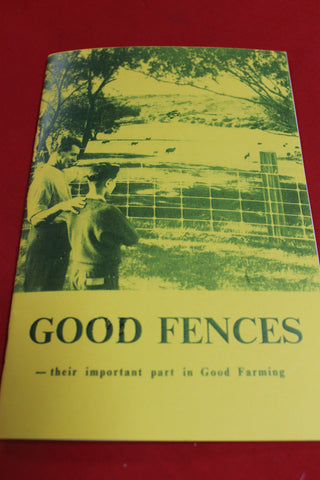 1960's - Good Fences Booklet