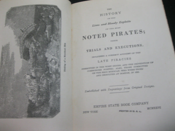 1926 - The History of the Most Noted Pirates .