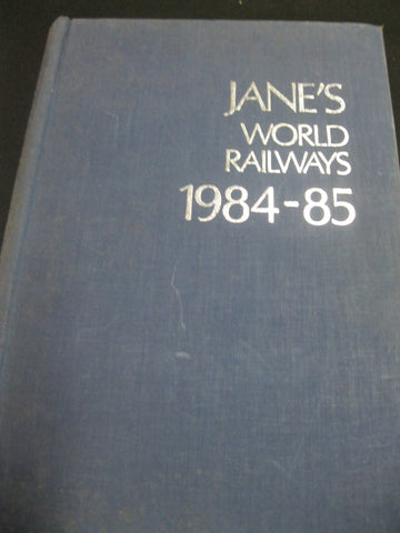 Jane's World Railways 1984-85
