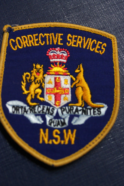 NSW Corrective Services Patch