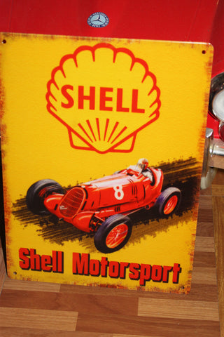 Tin - Shell Motorsport Sign