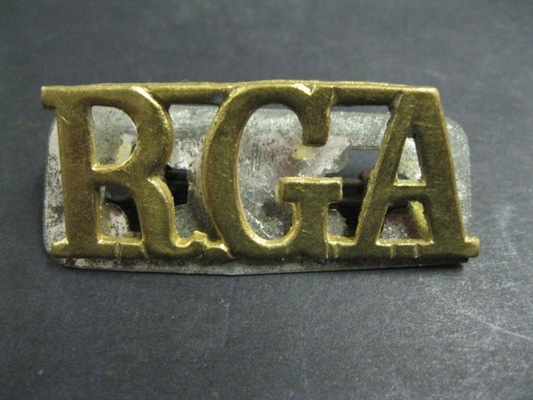 GB - WW1 Royal Garrison Artillery Title