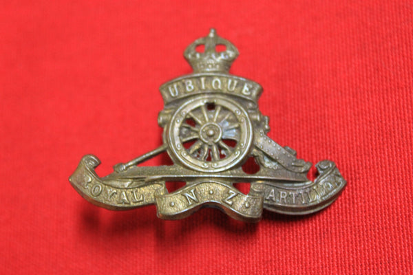 Royal NZ Artillery Cap Badge