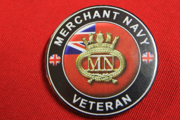 British Merchant Navy Button Badge