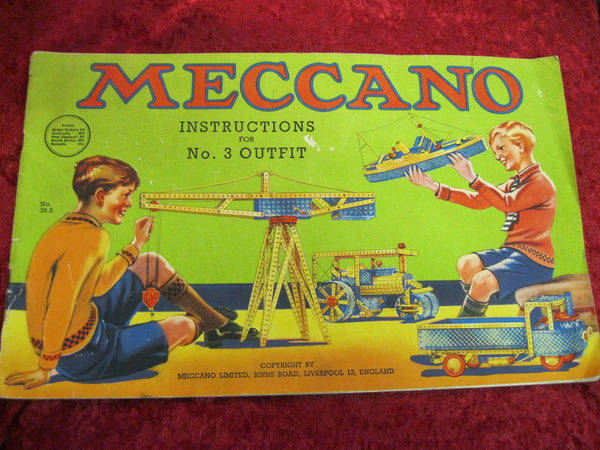 1930's - Meccano Instruction Manual