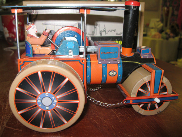 Clockwork Steam Roller