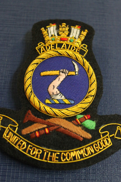 HMAS Adelaide Bullion Badge