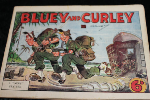 1945 - Bluey and Curley - A News Feature