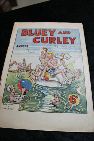Bluey and Curley Annual